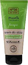 Fragrances, Perfumes, Cosmetics Moisturizing Foot Cream - Pharma CF No.36 Plantis Therapy Foot Cream