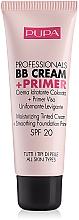 Fragrances, Perfumes, Cosmetics Foundation - Pupa Profesional bb Cream + Primer Tone-Cream