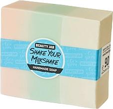 Fragrances, Perfumes, Cosmetics Glycerin Soap with Cream Raspberry Scent - Beauty Jar Shake Your Milkshake Handmade Soap
