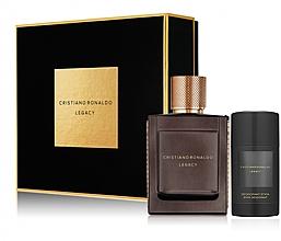 Fragrances, Perfumes, Cosmetics Cristiano Ronaldo Legacy - Set (edt/50ml + deo/75ml)