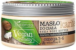 """Fragrances, Perfumes, Cosmetics Body Butter """"Shea"""" - Bielenda Vegan Friendly Shea Body Butter"""