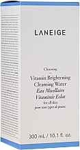 Fragrances, Perfumes, Cosmetics Brightening Micellar Water for All Skin Types - Laneige Vitamin Brightening Cleansing Water