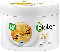 Fragrances, Perfumes, Cosmetics Moisturizing Vanilla Body Cream - Bioten Beloved Vanilla Body Cream