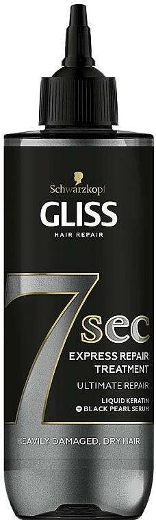Hair Mask - Schwarzkopf Gliss Kur 7 Sec Express Repair Treatment Ultimate Repair