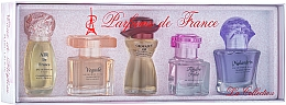 Fragrances, Perfumes, Cosmetics Charrier Parfums La Collection - Set (edp/12ml+edp/11.5ml+edp/10.7ml+edp/9.8ml+edp/10.1ml)