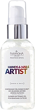 Cuticle Gel Remover - Farmona Hands and Nails Artist Express Softening Gel For Removing Cuticles — photo N2