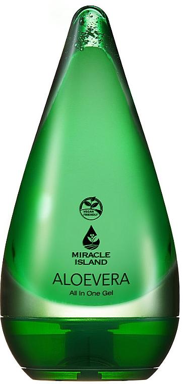 "Face & Body Gel ""Aloe Vera"" - Miracle Island Aloevera 99% All In One Gel"
