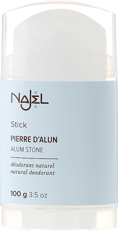 Natural Deodorant - Najel Alumstone Deodorant Stick