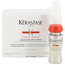 Fragrances, Perfumes, Cosmetics Anti Hair Loss Concentrate for Weak Hair - Kerastase Fusio-Dose Ampli Force Concentrate
