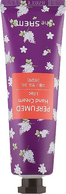 "Perfumed Hand Cream ""Lilac"" - The Saem Perfumed Lilac Hand Cream"