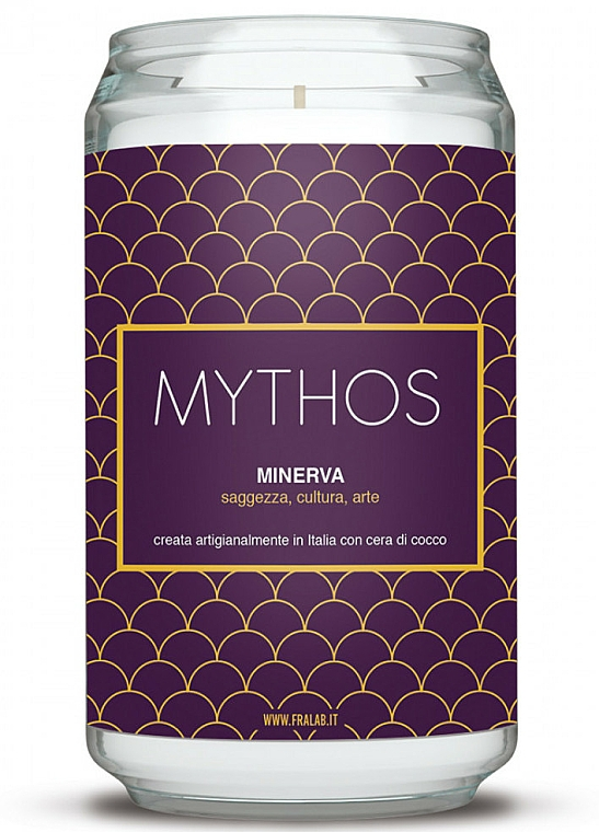 """Scented Candle """"Minerva"""" - FraLab Mythos Candle — photo N1"""