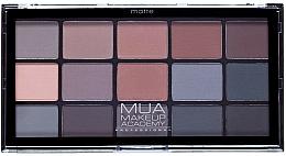 Fragrances, Perfumes, Cosmetics Eyeshadow Palette - MUA 15 Shade Eyeshadow Palette