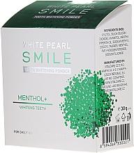 Fragrances, Perfumes, Cosmetics Whitening Tooth Powder - VitalCare White Pearl Smile Tooth Whitening Powder Menthol+