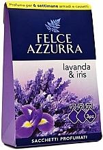 "Fragrances, Perfumes, Cosmetics Scented Sachet ""Lavender & Iris"" - Felce Azzurra Sachets Lavender and Iris"