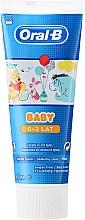 Fragrances, Perfumes, Cosmetics Kids Toothpaste - Oral-B Baby Winnie Pooh Toothpaste