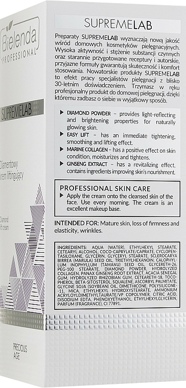 Diamond Lift Cream - Bielenda Professional SupremeLab Diamond Lift Cream — photo N3