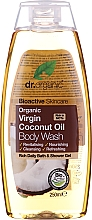 Fragrances, Perfumes, Cosmetics Organic Body Wash with Coconut Oil - Dr. Organic Bioactive Skincare Organic Coconut Virgin Oil Body Wash