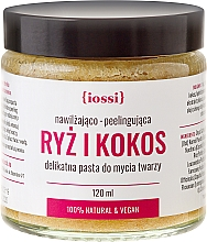 """Fragrances, Perfumes, Cosmetics Face Cleansing Paste """"Rice and Coconut"""" - Iossi"""