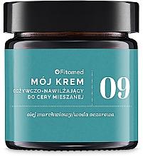 Fragrances, Perfumes, Cosmetics Moisturizing Face Cream for Combination Skin - Fitomed Face Cream №9