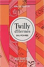 Fragrances, Perfumes, Cosmetics Hermes Twilly d'Hermes Eau Poivree - Eau de Parfum (sample)