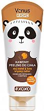 Fragrances, Perfumes, Cosmetics Chocolate Orange Body Coffee Peeling - Venus Xoxo Body Scrub Coffee Chocolate