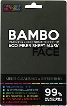 Fragrances, Perfumes, Cosmetics Refreshing Sea Salt & Bamboo Mask - Beauty Face Cleansing & Refreshing Compress Mask For Man