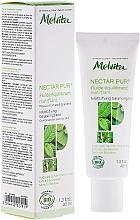 Fragrances, Perfumes, Cosmetics Mattifying Face Fluid - Melvita Nectar Pur Fluide Hydratant Matifiant