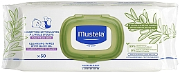 Fragrances, Perfumes, Cosmetics Olive Oil Wet Wipes - Mustela Cleansing Wipes With Olive Oil