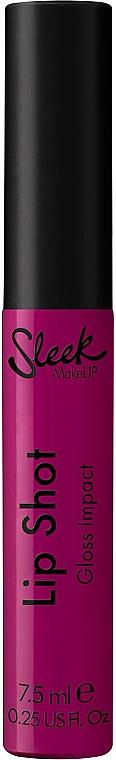 Lip Gloss - Sleek MakeUP Lip Shot Gloss Impact