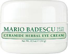 Fragrances, Perfumes, Cosmetics Eye Cream - Mario Badescu Ceramide Herbal Eye Cream
