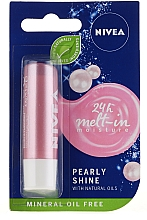 "Fragrances, Perfumes, Cosmetics Lip Balm ""Pearl Shining"" - Nivea Lip Care Pearl & Shine Limited Edition"