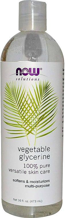 Vegetable Glycerine - Now Foods Solution Vegetable Glycerine