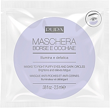 Fragrances, Perfumes, Cosmetics Mask to Fight Puffy Eyes & Dark Circles - Pupa Mask To Fight Puffy Eyes And Dark Circles