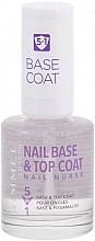 Fragrances, Perfumes, Cosmetics Nail Top & Base Coat - Rimmel Nail Nurse 5 in 1 Nail Base & Top Coat