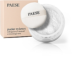 Fragrances, Perfumes, Cosmetics Rice Powder with Frozen Wine Extract - Paese Powder