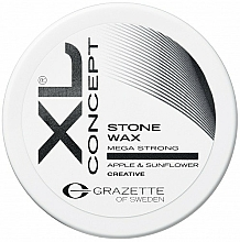 Fragrances, Perfumes, Cosmetics Matte Hair Wax - Grazette XL Concept Stone Wax