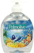 "Fragrances, Perfumes, Cosmetics Liquid Soap ""Aquarium"" - Palmolive Aquarium Liquid Soap"