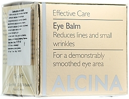 Fragrances, Perfumes, Cosmetics Anti-Aging Eye Balm - Alcina E Eye Balm