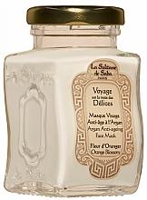 Fragrances, Perfumes, Cosmetics Face Mask - La Sultane De Saba Bio Argan & Orange Blossom Argan Anti-Ageing Face Mask Orange Blossom