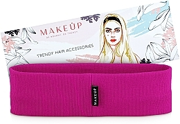 "Fragrances, Perfumes, Cosmetics Headband, crimson ""Be Beauty"" - MakeUp"