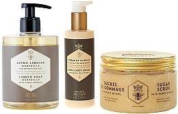 Fragrances, Perfumes, Cosmetics Set - Panier Des Sens Honey (scrab/300g + soap/500ml + b/cr/200ml)