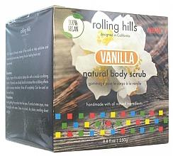 Fragrances, Perfumes, Cosmetics Vanilla Body Scrub - Rolling Hills Gommage Corps Naturel