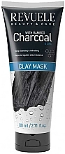 Fragrances, Perfumes, Cosmetics Bamboo Charcoal Face Mask - Revuele Bamboo Charcoal Clay Mask