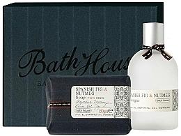 Fragrances, Perfumes, Cosmetics Bath House Spanish Fig and Nutmeg - Set (edc/100ml + soap/150g)