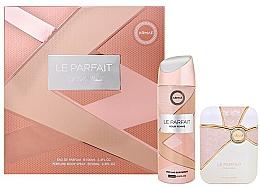 Fragrances, Perfumes, Cosmetics Armaf Le Parfait Pour Femme - Set (edp/100ml + deo/spray/200ml)