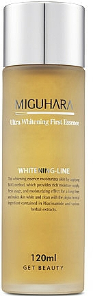 Whitening Face Essence - Miguhara Ultra Whitening First Essence