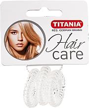 Fragrances, Perfumes, Cosmetics Anti Ziep Elastic Hair Band, transparent - Titania
