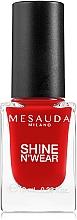Fragrances, Perfumes, Cosmetics Nail Polish - Mesauda Milano Shine N`Wear Nail Polish