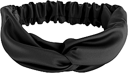 "Fragrances, Perfumes, Cosmetics Hair Band ""Satin Twist"", black - MakeUp Hair Accessories"