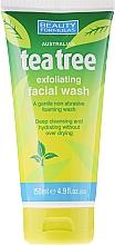 "Fragrances, Perfumes, Cosmetics Facial Washing Gel ""Tea Tree"" - Beauty Formulas Tea Tree Exfoliating Facial Wash"